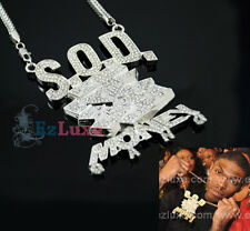 SOULJA BOY SOD Money Gang Pendant Iced Out hip hop