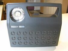 RARE VINTAGE PANASONIC SG-358 PORTABLE RADIO PHONOGRAPH TURNTABLE RECORD PLAYER