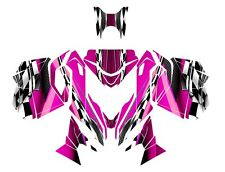 Ski Doo REV XM Summit graphics 2013 2014 2015 Skidoo wrap kit #2300 Pink