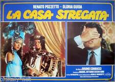 fotobusta 1982 LA CASA STREGATA-Renato Pozzetto-Gloria Guida-IT movie poster - 3
