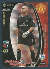 WIZARD OF THE COAST-2001/02 #162-MANCHESTER UNITED & FRANCE-FABIEN BARTHEZ