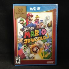 Super Mario 3D World  (Wii U) Brand New !! Nintendo Selects