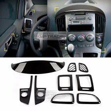 Carbon Interior Molding Garnish Trim K224 9Pcs for HYUNDAI 07-17 Starex iMax H1