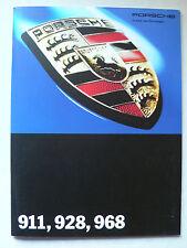 Prospekt Porsche programa (964 Speedster, 993,968,928 GTS) 8.1993, 24 páginas