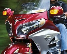 KURYAKYN 7362 CHROME FAIRING EYEBROW ACCENT GL1800 GOLDWING 2012-2016 49-6996