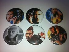 6 Blade Runner button pin badges 25mm Cult 80's Hip Hop Culture Scarface
