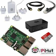 RASPBERRY PI 3 8GB Starter/Media Centre Kit (2016 Model)