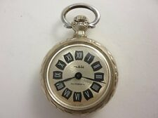 Vintage German RUHLA Antimagnetic Ladies Pocket Watch Decorated 1960's