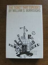 SIGNED - THE TICKET THAT EXPLODED William S. Burroughs -  1st/1st 1967 HCDJ - NF
