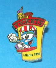 ATLANTA 1996 Olympic Collectible Logo Pin - Mascot Izzy Inside Ticket Booth