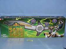 Mighty Morphin Power Rangers Legacy Saba Sword BOXED 634
