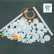 75pcs Plastic Gears / High Quality Plastic Gear Package Motor Gearbox Robot DIY