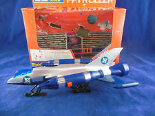 Vintage Dinky Toys 363 Zygon Patroller with Cut Out Space Station