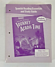 Spanish Reading Essentials Glencoe World History Journey Across Time; Softcover