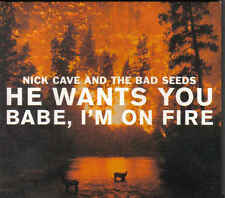 Nick Cave And The Bad Seeds-He Wants You Babe,Im On Fire cd maxi single digipack