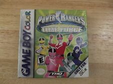 New, factory sealed Power Rangers Time Force (Nintendo Game Boy Color)