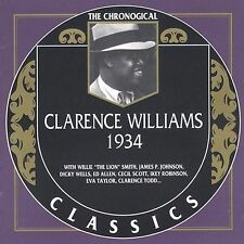 1934 by Clarence Williams-CLASSICS CD NEW