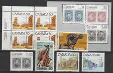 CANADA STAMPS #656//756a -- (7) HIGH VALUES -- 1975 - MINT