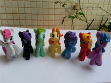 "7PCS/Set My Little Pony 5cm/2"" Friendship Is Magic mini Action Figure Toy Doll"