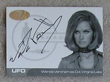 UFO Trading Cards Rare Proof Auto Card WV1 Wanda Ventham as Col Virgina Lake