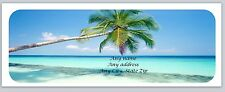 30 Personalized Return Address Labels Scenic Beach Buy 3 get 1 free (c 783)