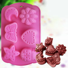 Useful 3D Butterfly Cake Chocolate Pudding Jelly Mold Silicone Baking Mould