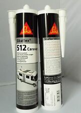 Sikaflex 512 300ml - White TWIN PACK EXP **12/2017** Caravan Adhesive Sealant