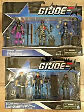 G.I.JOE 50th ANNIVERSARY: COBRA LEGION & G.I.JOE SPECIAL FORCES 3-PACKS