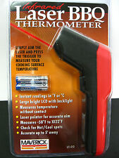 MAVERICK INFRARED LASER SURFACE THERMOMETER - BBQ - AUTO - HOME -58 to 1022 deg