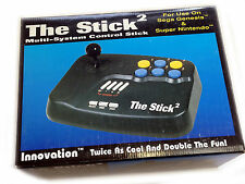 New FIGHTING TYPE STICK Arcade Controller for SNES Super Famicom Sega Mega Drive