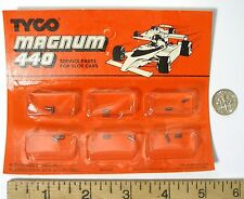 6 pair TYCO 440 440-X2 Slot Car Motor CARBON BRUSHES CARDED FACTORY PART 6552