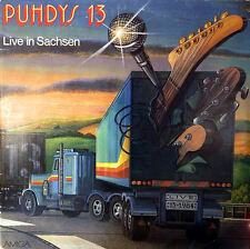 PUHDYS 13. Live in Sachsen. Do-Album 1984 . AMIGA
