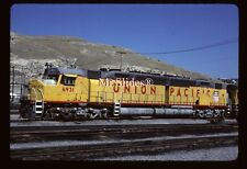 Original Slide UP Union Pacific DDA40C Centennial 6931 In 1985 At SLC UT