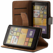 Nokia Lumia 625 portafoglio custodia protettiva nero wallet case cover