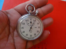 OLD Vintage  rare Russian stopwatch AGAT 15 STONE MILITARY MECHANICAL