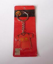 MANCHESTER UNITED Metal Enamel KEYCHAIN 2013 Thailand SINGHA BEER Mint Legends