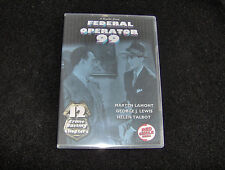 FEDERAL OPERATOR 99 CLIFFHANGER SERIAL 12 CHAPTERS 2 DVDS