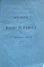 PADOVA STORIA BAGNI PUBBLICI