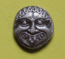 Moneda griega Macedonia, Neapolis. alrededor de 500-480 A.C. dracma Moneda De Plata