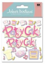 PATTY CAKE by Jolee's Boutique 3D SCRAPBOOK STICKERS BABY SPJB390 NIP