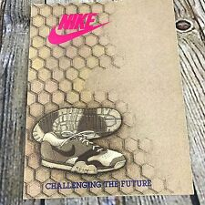 Nike Vntg Challenge The Future Game Footwear Sneakers Dealer Brochure Catalog