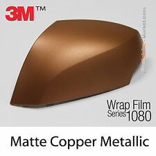 10x20cm FILM Matte Copper Metallic 3M 1080 M229 Vinyle COVERING Series Wrapping