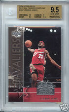 LeBRON JAMES Cavaliers 2004 Upper Deck NTCD rookie BGS 9.5 GEM MINT