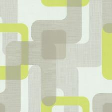 Novara Green Retro Wallpaper Paste the Wall Textured Vinyl 13460-40