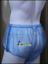 ADULT BABY PLASTIC PANTS PVC incontinence #P004-6T,L