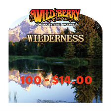 "100* Wild Berry Incence Hand Dipped 11"" Sticks 16 Assorated Wilderness Scents"