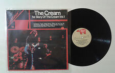 "The Cream ""The story of the cream vol. 1"" LP RSO 2479 212 Italy 1968 VG+/VG"