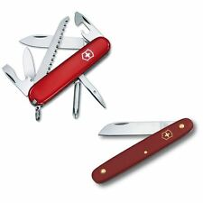 Victorinox HIKER & UTILITY KNIFE (BOTH) PAIR Swiss Army Knife Set - Swiss Made