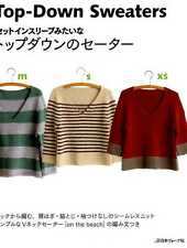 Top Down Sweaters - Japanese Craft Book