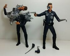 MCFARLANE Toys - TERMINATOR 2 - T-1000 Double Figure -  Loose Action Figure
